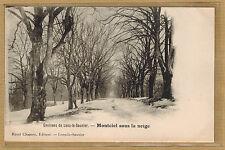 Cpa environs de Lons le Saunier - Montciel sous la neige rp0585