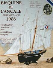 """Brand new wooden model ship kit by Soclaine: """"Le Petrel"""" Cancale Fishing Boat"""