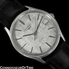 LONGINES Vintage Mens Dress Watch, Quartz, Date - Stainless Steel