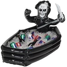 HALLOWEEN GRIM REAPER INFLATABLE DRINKS COOLER 36 IN X 20 IN PRIORITY SHIP NEW
