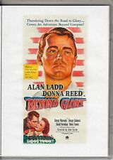 BEYOND GLORY ALAN LADD  ALL REGION DVD