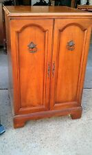 "Antique TV - 1954 - French Provincial Fruitwood Cabinet ""The Normandy 21"""