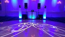 DJ FACADE LIGHT UP BOARD BOOTH W/CARRY CASE