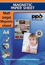 A4 Inkjet Magnetic Paper Sheet Matt x 5 Sheets