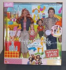 BARBIE Doll ~ Happy Family Neighborhood HOMETOWN FAIR Set ~ Midge Alan ~ NRFB