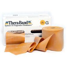 THERA-BAND ® 1,8 m gold Gymnastikband Original Theraband von der Rolle
