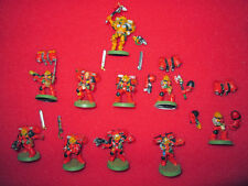 40K Space Marine Blood Angels 9x OOP metal assault marines + metal Dante