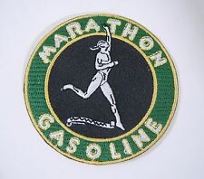 MARATHON GASOLINE Embroidered Iron On Uniform-Jacket Patch 2.75""