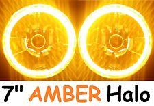 "1pr 7"" Halo AMBER Headlights Holden Gemini TX TC TE TD Drover Jackaroo KB Rodeo"
