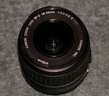 CANON EFS 18-55MM ZOOM *** WITH BUNDLED UV FILTER