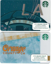 Starbucks Gift Card - Los Angeles - Orange County - Collector Perfect