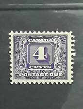 CANADA Scott J8 - NH - 4¢ Second Postage Due Issue