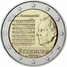 "Luxembourg 2 Euro (€2) commemorative coin 2013 ""National Anthem"" - UNCIRCULATED"