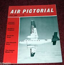 Air Pictorial 1960 July Sopwith,Cessna 175,Viscount,Bf109
