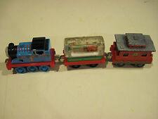 Diecast Holiday Thomas Set (3) for Thomas Trains Take N Play or Take Along
