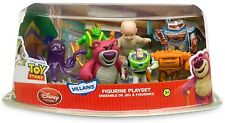 TOY STORY 3 VILLAINS PLAY SET LOT BUZZ LIGHTYEAR TWITCH CHUNK STRETCH LOTSO