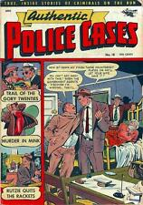 Authentic Police Cases #18 Photocopy Comic Book