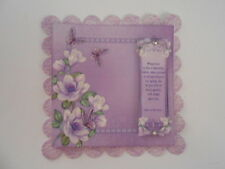 PK 2 MAGNOLIA & BUTTERFLIES EMBELLISHMENT TOPPERS GREAT FOR  CARDS & CRAFTS