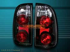 2000-2004 TOYOTA TUNDRA STANDARD / ACCESS CAB ALTEZZA TAIL LIGHTS BLACK