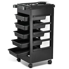 Salon Spa Trolley Storage Cart Coloring Beauty Hair Dryer Holder Salon Equipment