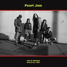 PEARL JAM Live in Chicago March 28, 1992 LP SEALED Vinyl