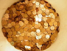 10  POUNDS of CANADIAN 1 Cent Pennies  from 1965 -1996  .980 PURE Copper Bullion