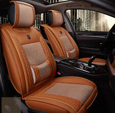 On Sale 2pcs Car Seat Cover Front Seat Cover Sets For All Car Orange