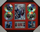 ACDC CD SIGNED FRAMED MEMORABILIA LIMITED EDITION