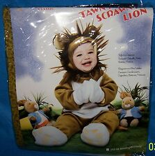 Size 12-18 Mo. Little Golden Book Infant Costume Tawny Scrawny Lion