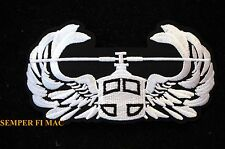 US HELICOPTER JUMP PARACHUTE WINGS PATCH US ARMY MARINES NAVY AIR FORCE USCG WOW
