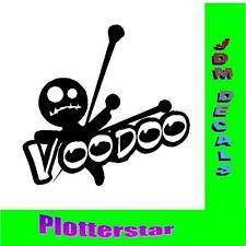 Voodoo nr3 Puppe  JDM Sticker aufkleber oem Power fun like Shocker