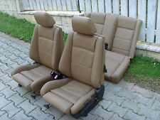 BMW 3 series e30 convertible leather seat covers