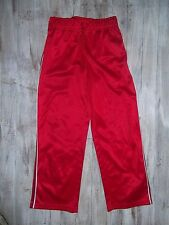 Boys Jumping Beans Red Athletic Pants Size Large 7 Youth Elastic Waist EUC