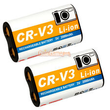 2 CR-V3 CRV3 Rechargeable Battery for Olympus C-170 C-3040 C750 Camedia E-20