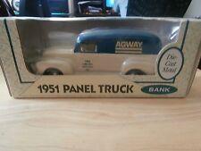 1951 Ertl GMC Panel Truck Bank Agway Limited Edition 1994 #9 1/25 scale NIB