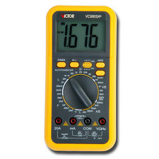 Electric Digital Multimeter Thermometer Inductance AC DC Ohm