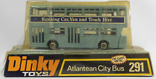 Dinky: Atlante City Bus Die Gato Modelo Modelo Vintage. número 291.
