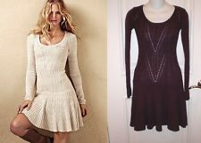 VICTORIAS SECRET MODA INT. SWEATER PONTELLE KNIT DRESS~ XS~