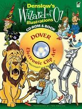 Dover Electronic Clip Art: Denslow's Wizard of Oz Illustrations CD-ROM and...