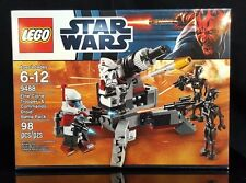 LEGO Star Wars Elite Clone Trooper Commando Droid Battle Pack 9488 NISB
