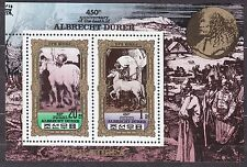 KOREA Pn. 1980 MNH** SC#1983a Sheet, Albrecht Durer, 450th Anniv. Death. Horse.
