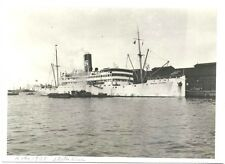 Photo 1938 ~  Merchant Steamer General Pershing in Kobe Japan  ~ Sunk  1942
