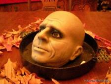 ANIMATED LIFE SIZE JEEVES the BUTLER HEAD ON A TRAY HALLOWEEN PROP