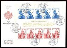 Monaco 1985 Europa M/S FDC #C8269