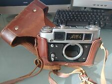 FED 4 camera body and case. Clean and working