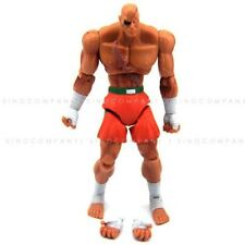 "Free Ship Kids Toy JAZWARES STREET FIGHTER SAGAT 4"" ACTION FIGURE Boy Gift FW214"