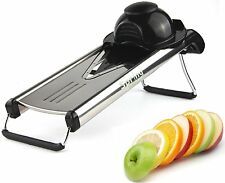 Spring Kitchen -Premium V-Blade Stainless Steel Mandoline Food Slicer Cutter NEW