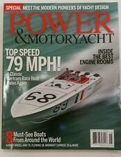 Power & Motoryacht Top Speed Best Engine Rooms Special Jun 2016 FREE SHIPPING JB