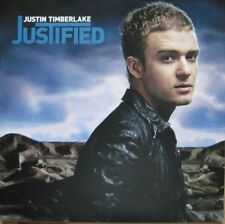 Justin Timberlake - JUSTIFIED -  (New & Sealed Vinyl LP)