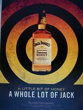JACK DANIELS HONEY  WHOLE LOT OF JACK POSTER 18 BY 27